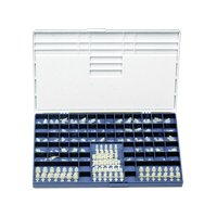 9518576 Polycarbonate Crowns 101, 5/Box