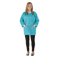 9520846 SafeWear Hipster Jackets Medium, Tropical Teal, 12/Pkg., 8115B