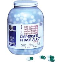 9526834 Dispersed Phase Alloy Fast Set, One Spill, 400 mg, Green/Green, 500/Pkg
