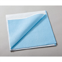 "9529055 Drapes 40"" x 48"", Heavier Tissue, Blue, 100/Pkg., 980924"