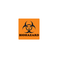 "9529404 Biohazard Label 4""x 4"", 100/Pkg"