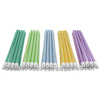 9530059 BeeSure Rainbow Saliva Ejectors Assorted Colors, 500/Box, BE206