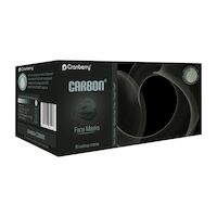 9530885 Carbon Masks Black, 50/Box, C2900K