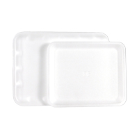 "9531992 ProTrays Disposable Instrument Trays Flat Hygiene Tray, 8 3/8""x 10"", White, 125/Pkg, DT-01A"