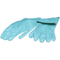 9539715 Heavy Duty Nitrile Utility PF Gloves Small, 1 Pair, 653-53171301