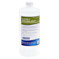 9539989 Clearly Debubblizer Debubblizer Solution, Quart, D926-6