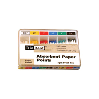 9547934 Paper Points - Color Coded Accessory Cell, Coarse, 200/Pkg., 202-305