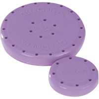 9558540 Round Magnetic Bur Blocks 8-Hole, Lilac, 31824