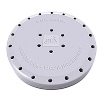 9558560 Round Magnetic Bur Blocks 24-Hole, Lilac, 31834