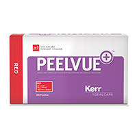 "9558702 Peelvue   Sterilization Pouches 3.5"" x 5.25"", Red, 200/Box, 31610"