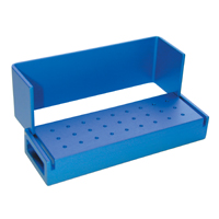 9590050 Aluminum Bur Blocks 27 FG, Blue, AB100-1U