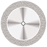 9590252 Flex NTI Diamond Discs D345-220, Medium, Double Sided