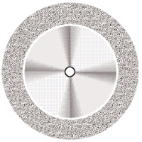 9590268 Superflex NTI Diamond Discs D911H-190, Medium, Double Sided