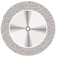 9590274 Superflex NTI Diamond Discs D911HEF-190, Fine, Double Sided