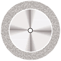 9590278 Superflex NTI Diamond Discs D911HEF-220, Fine, Double Sided