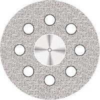 9590300 Flex NTI Diamond Discs D918PB-220, Coarse, Double Sided, Perforated