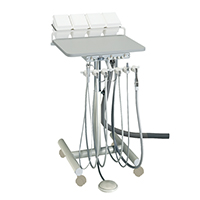 9626174 3 HP Automatic Doctor's Cart Doctor's Cart w/Vacuum, A-4150