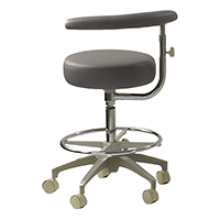 9626190 Operatory Seating Assistant, Standard Nauga Soft Upholster, AT-96