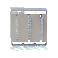 9812258 Crystal Disposable Impression Trays Empty Dispenser for Perforated Trays