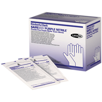 9900096 Purple Nitrile Sterile PF Gloves Medium, 50 Pairs, 55092