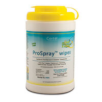"9903514 ProSpray Wipes Canister, 6"" x 6.75"", 240/Canister, PSWC"