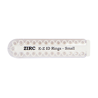 9906264 E-Z ID Ring Systems and Refills Small Refill Rings, White, 25/Pkg., 70Z100A