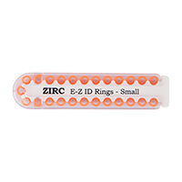 9906279 E-Z ID Ring Systems and Refills Small Refill Rings, Vibrant Orange, 25/Pkg., 70Z100Q