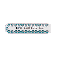 9906291 E-Z ID Ring Systems and Refills Large Refill Rings, Teal, 25/Pkg., 70Z200J