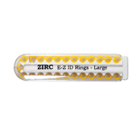 9906294 E-Z ID Ring Systems and Refills Large Refill Rings, Vibrant Yellow, 25/Pkg., 70Z200O