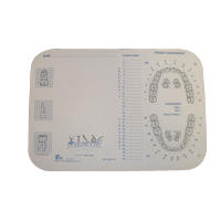 "9907690 Tray Covers Ritter B, Tooth, 8.5""x 12.25"", 1000/Box, 917520"