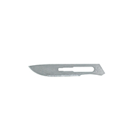 9909140 Carbon Steel, Sterile Surgical Blades #10, 100/Box, 4-110