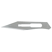 9909161 Stainless Steel, Sterile Surgical Blades #25, 100/Box, 4-325