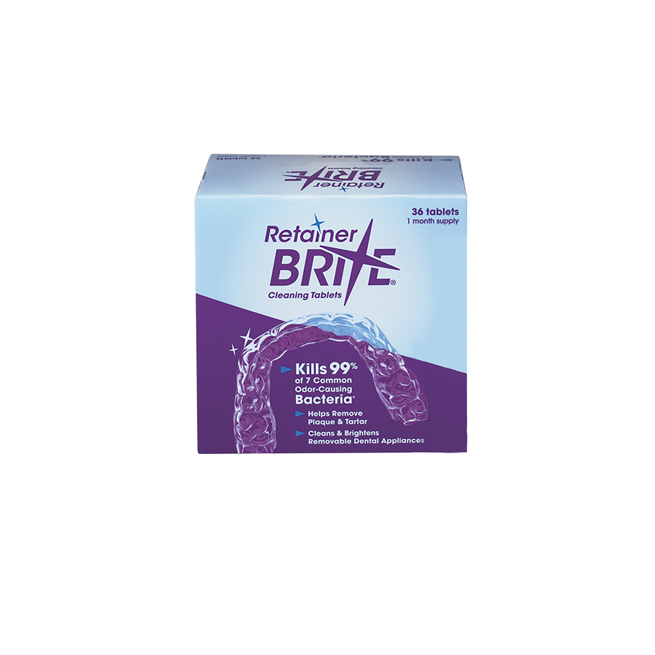 0905080 Retainer Brite Tabs Tablets, 36/Box